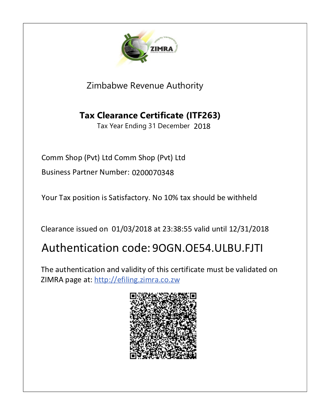 certificate clearance tax netone zimbabwe zw webdev downloads